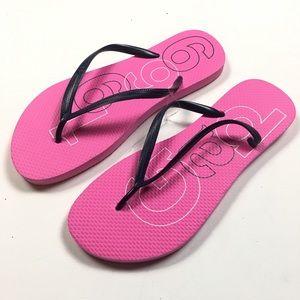 Gap Spring Pink Flip Flops Size 9 Thong c95 Summer
